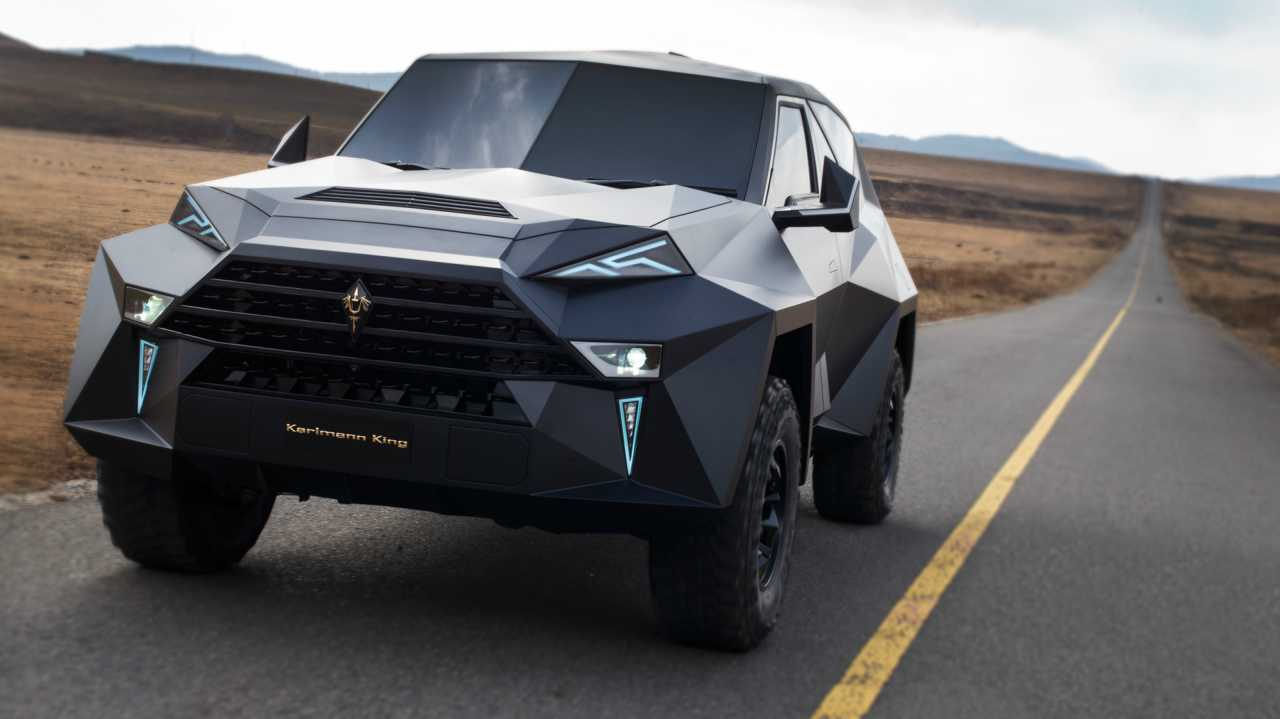 Understandably, the vehicle is touted as the most expensive SUV ever made. It was first unveiled during the Dubai International Motor Show 2017 in November.