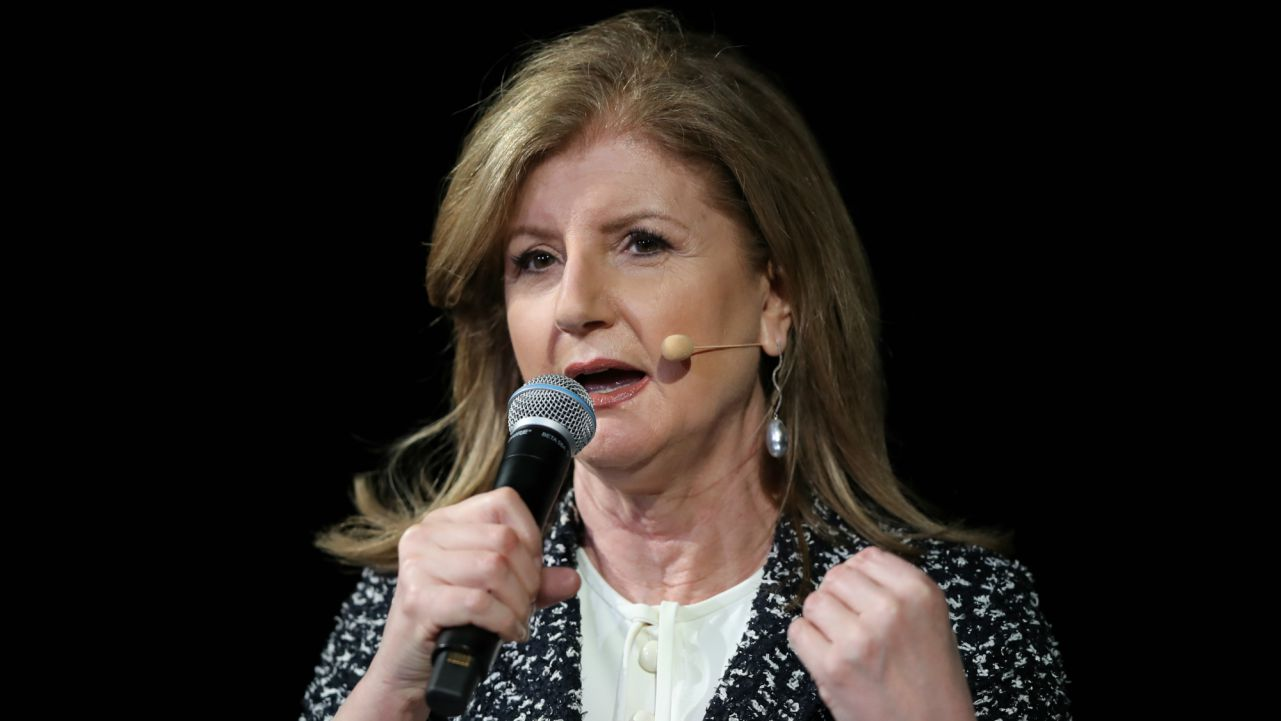 Arianna Huffington, Founder, Huffington Post: Fearlessness is not the absence of fear. It's the mastery of fear. It's about getting up one more time than we fall down. (Reuters)