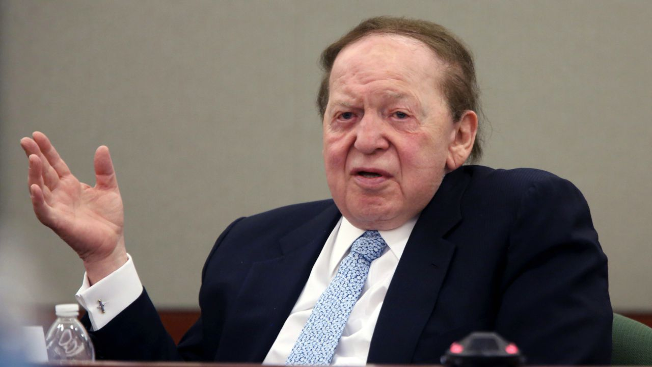 Sheldon Adelson | USD 37.3 billion | Chairman of the world's largest casino operating company, Adelson never graduated from college. He grew up in a poor family in Boston and sold newspapers to survive at the ripe age of 12. Currently, he is the majority shareholder of Las Vegas Sands which employs over 50K people. (Reuters)