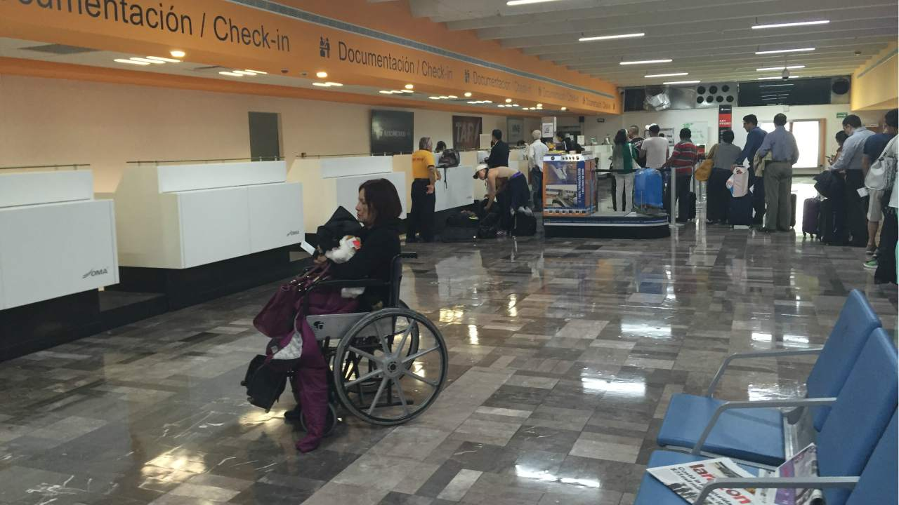 "Same day, a woman passenger of IndiGo was injured after she fell from a wheelchair while being ferried by the airline staffer at the Lucknow airport. IndiGo claimed that the mishap happened due to crack in the floor at the airport, however, the Airports Authority of India said it was "" gross negligence of IndiGo staff"". (Representative image- Wikimedia Commons)"