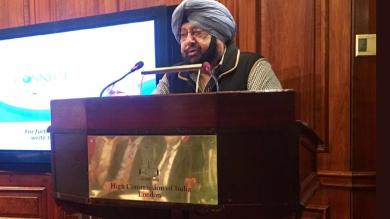 Day 2 | Chief Minister of Punjab Amarinder Singh | States of the Union: Punjab | 5.15 PM