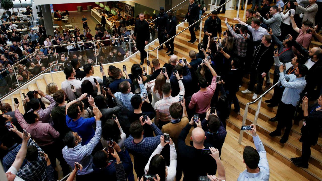Boxing - Anthony Joshua & Joseph Parker Press Conference - London, Britain (Reuters)