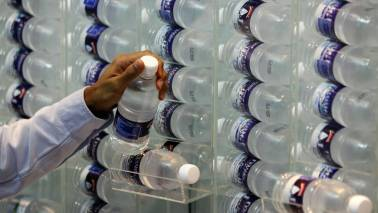 Plastic particles found in top bottled water brands; health hazards not known