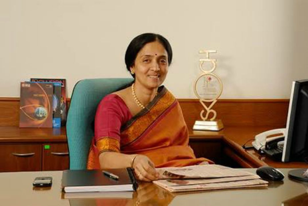 Chitra Ramkrishna is the first female Managing Director and Chief Executive Officer of the National Stock Exchange (NSE). (Image credit: Facebook)