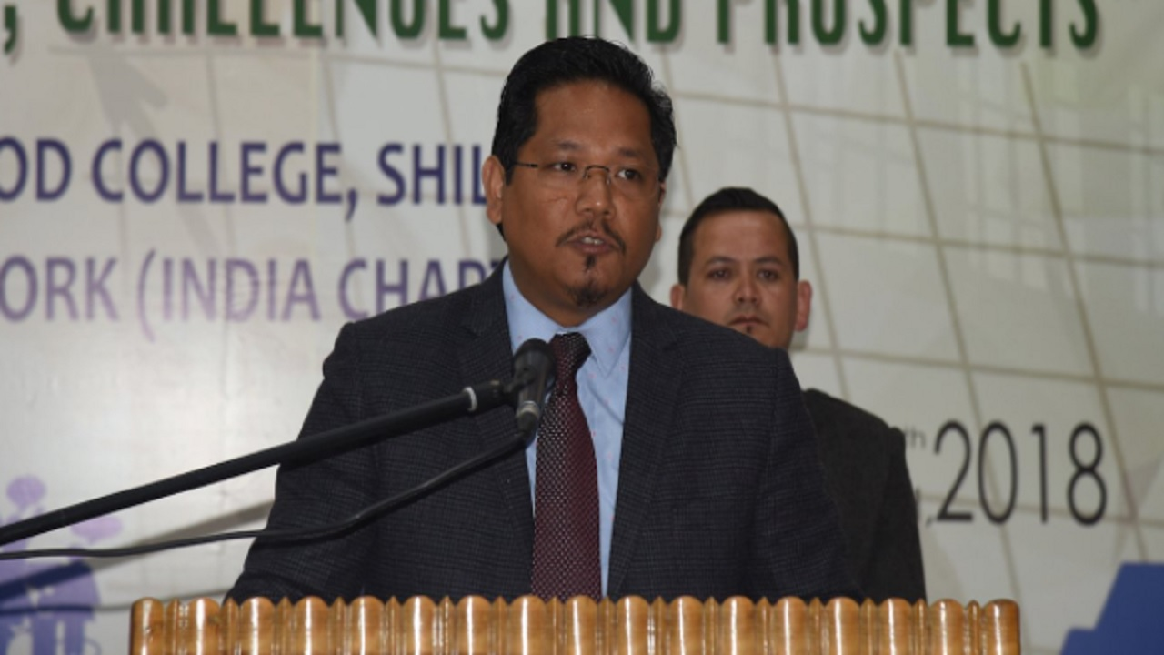 Day 2 | Chief Minister of Meghalaya Conrad Sangma | States of the Union/North-East Reset | 4.30 PM