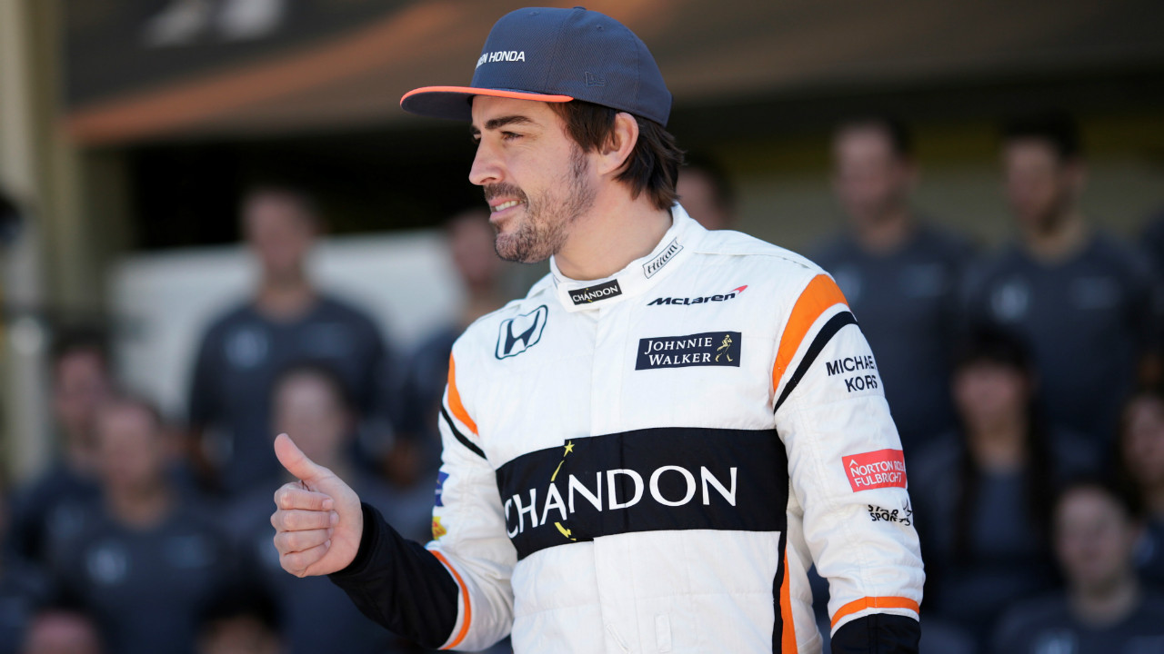Fernando Alonso | The Spanish Formula One racing driver's thumbs are insured for $13.3 million. (Photo: Reuters)