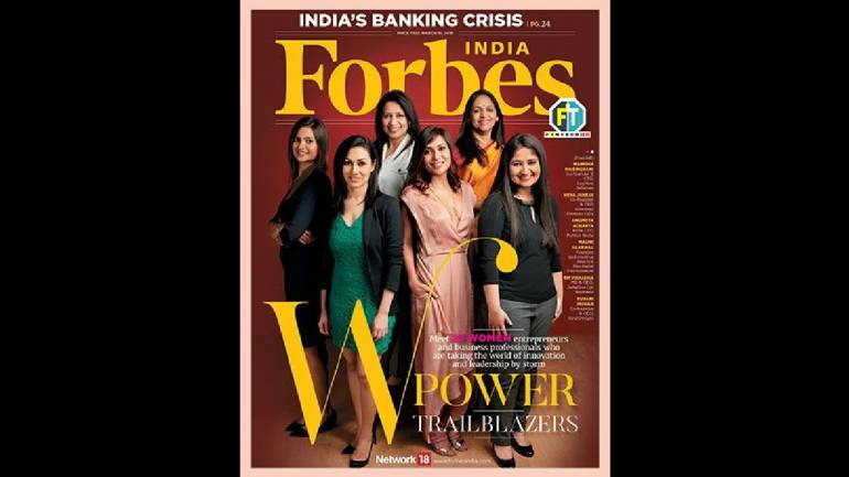 Forbes India releases 2018 edition of the 'W-Power Trailblazers' issue