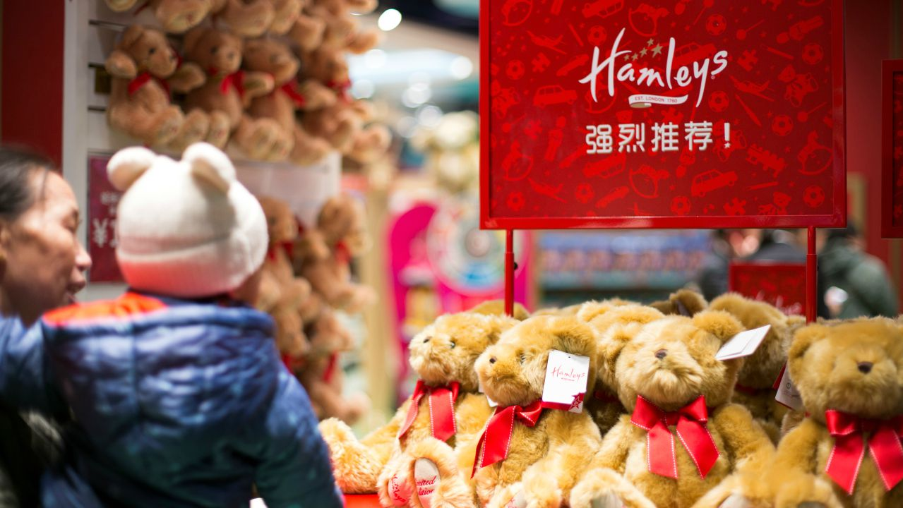 Answer: Hamleys. (Picture: Reuters)