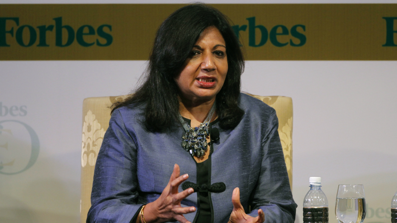 Kiran Mazumdar-Shaw | The Biocon chief has been listed on the Forbes list of most powerful women in the world. She is also a recipient of the Othmer Gold Medal for her contributions to science and chemistry. (Photo: Reuters)
