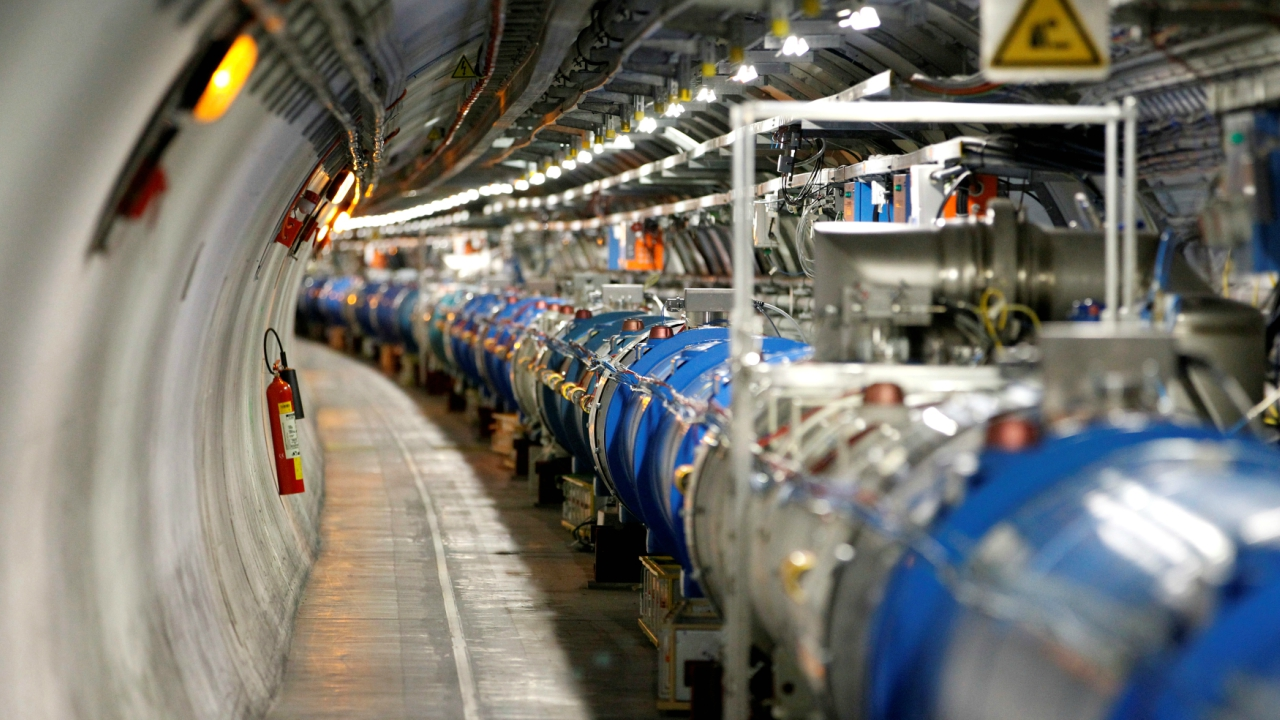 Large Hadron Collider | Estmated cost: Rs 37,700 crore | The Large Hadron Collider (LHC) is the world's biggest and most powerful particle accelerator. The 17-mile (27-km) long collider was built deep underground, straddling the French and Swiss borders. Its primary aim was to recreate the conditions that existed immediately after the Big Bang. The collider was first started on September 10, 2008. (Reuters)