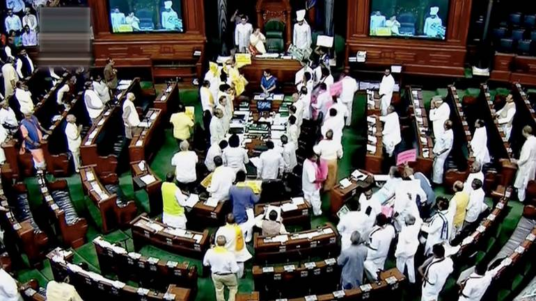 The second half of the Budget Session was the least productive in past 18 years thanks to repeated adjournments due to protests in both the Lok Sabha and Rajya Sabha.