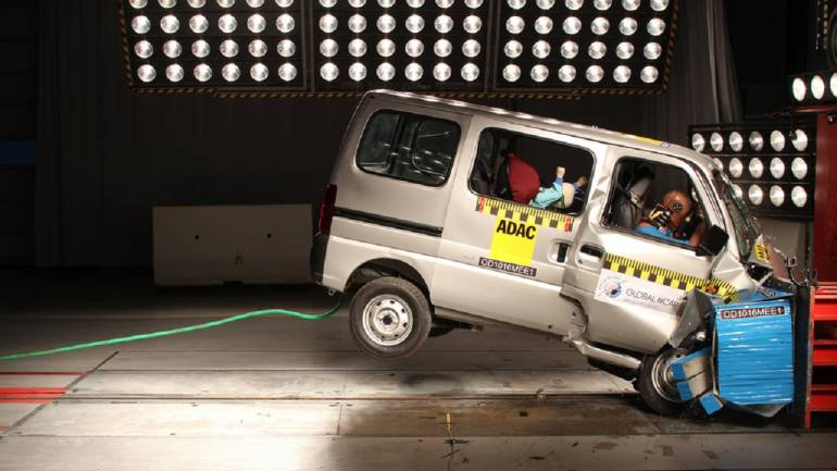 Maruti Likely To Upgrade Omni Eeco To Meet Crash Norms