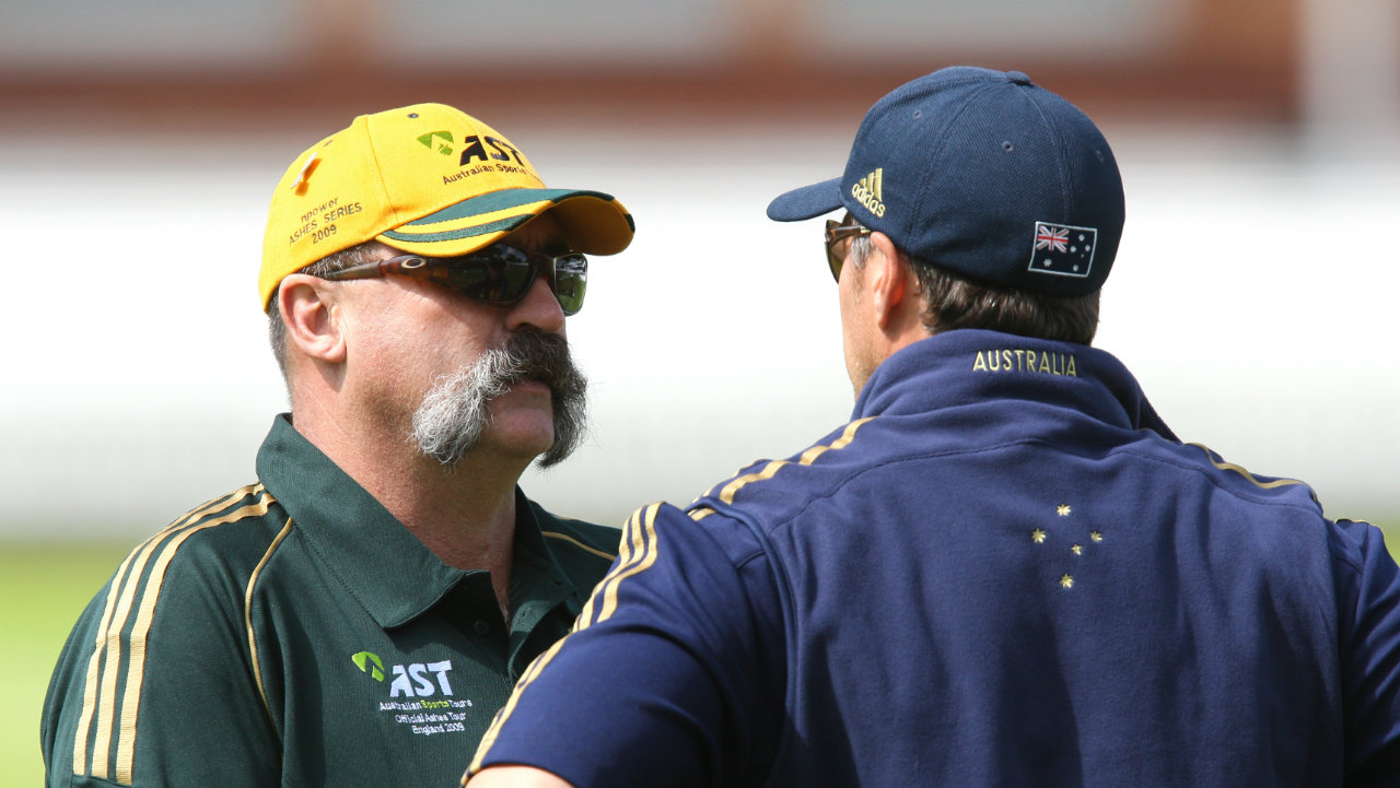 Merv Hughes | The retired Australian cricketer's famous moustache was insured for $370,000. (Photo: Reuters)