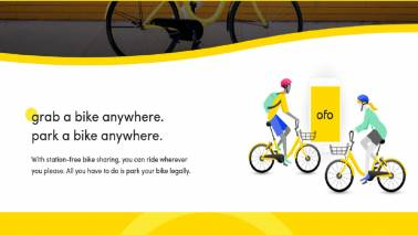 China's cycle-sharing startup Ofo Bikes: India is strategically important for us