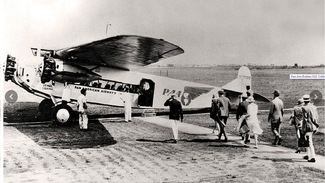Pan American World Airways, or Pan Am, was founded in 1927 to carry mail between the US and Cuba. The airlines soon became the go-to airline for the glamorous jet set of the 1960s, however, Pan Am closed up shop in December 1991 after filing for bankruptcy. (Picture: Pan Am historic foundation)