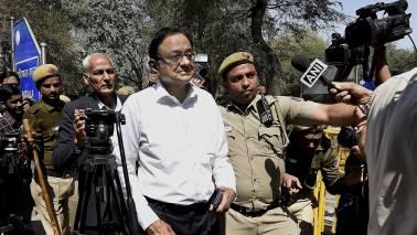 P Chidambaram at CBI headquarters for questioning in INX media case