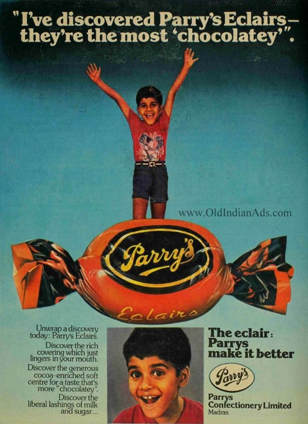 Answer: Parry's Eclairs.