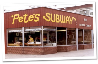 Answer: Pete's Subway