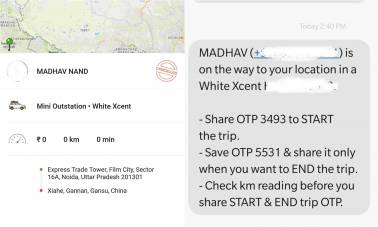 Troubleshooting time for Ola? App glitch allows users to book cab to North Korea & even the US