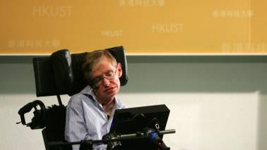 Cosmic universe has a vacuum as Stephen Hawking fades away into the stars