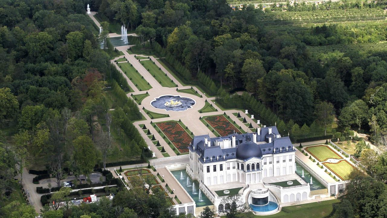 Château Louis XIV (Residence): USD 301 million | This 10-bedroom estate is located on the outskirts of Paris, France and currently holds the record for the most expensive residential property ever sold. The property was built by Saudi real estate developer Emad Khashoggi and was sold to an anonymous buyer in 2015. (Image: Reuters)