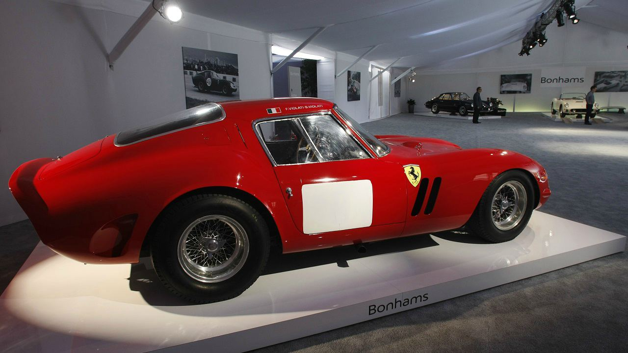 1963 Ferrari 250 GTO Racer (Car): USD 52 million | This 'Prancing Horse' was sold by US-based collector Paul Pappalardo to an unidentified buyer in 2013. It is one of the 39 250 GTOs made by Ferrari.