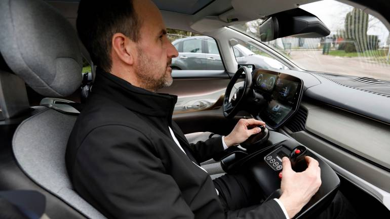 There are multiple components that work together to control a driverless car. There are radar sensors around the car, video cameras and Lidar sensors, among other. (Image: Reuters)