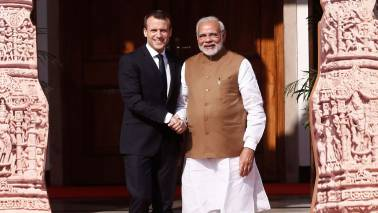 PM Modi, Emmanuel Macron inaugurate UP's biggest solar power plant