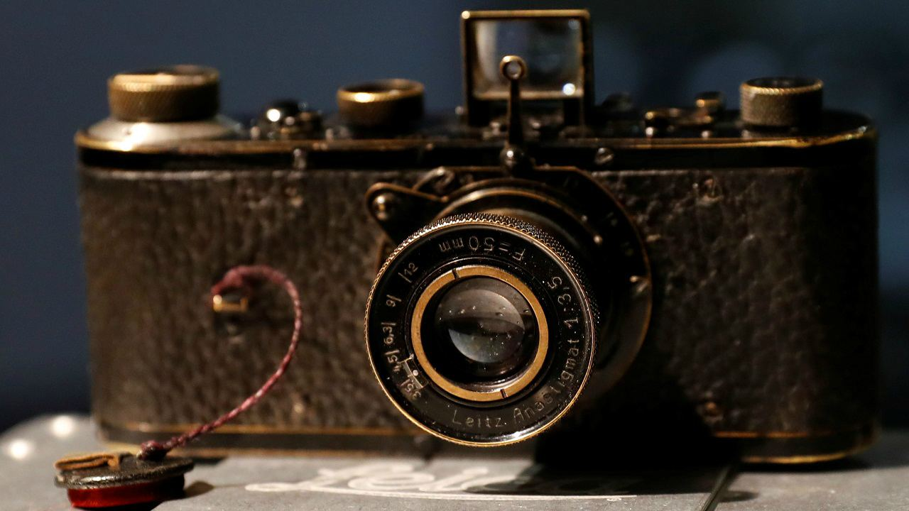 Leica 0 Series Camera: USD 1.9 million | Considered one of the most expensive camera's in the world, this limited-edition device was bought at the Galerie Westlicht auction in Vienna, Austria in 2012. This one remains one of the only 25 test versions of Leica's iconic 0-Series. (Image: Reuters)