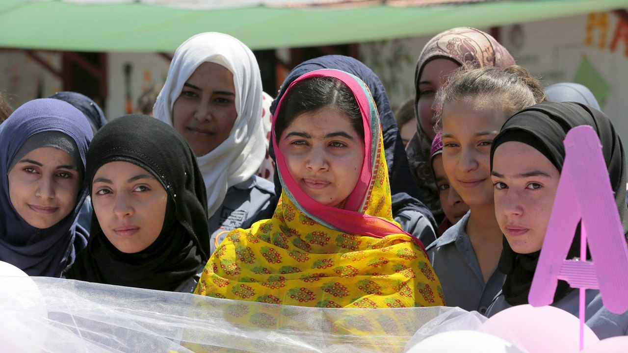 She has started the Malala Fund which invests in educational initiatives for girls and works in her home country Pakistan along with Afghanistan, Nigeria and Kenya. The Fund also works for Syrian refugees in Jordan. (Image: Reuters)