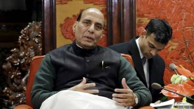 Nobody can question Modi government's integrity: Rajnath Singh