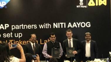 SAP India and Niti Aayog collaborate for Niti Tinkering Labs