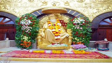 Devotee donates Rs 39 lakh gold lamp to Shirdi's Sai temple