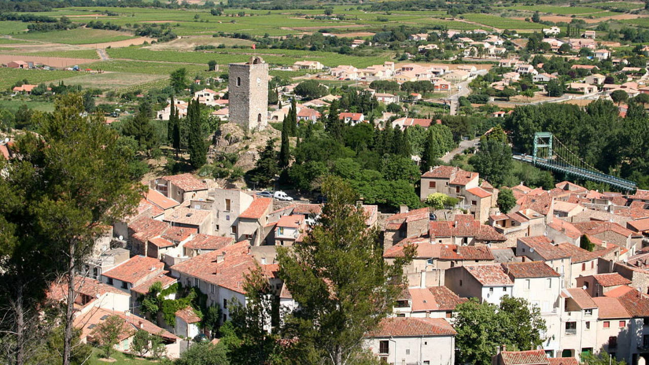 Saint-Chinian, France | Wine-making is a huge source of income for this French village. A couple will spend about $1,628 on rent and living expenses, according to Forbes. (Photo: Live and Invest Overseas)
