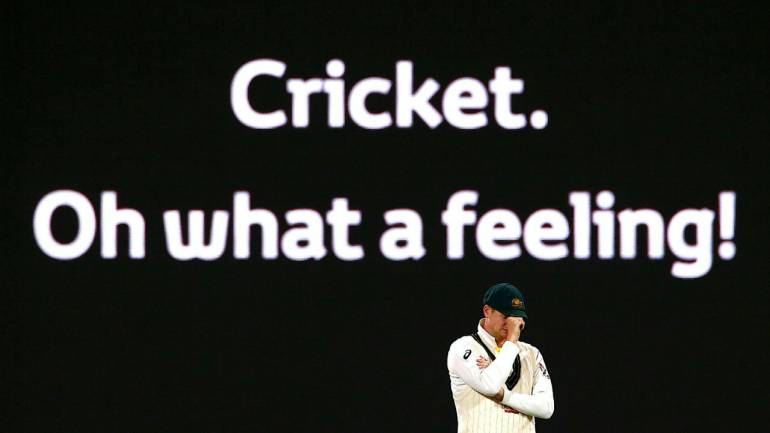 Australia s Steve Smith reacts during the second Ashes cricket Test match.  (Image  Reuters 1de5602dda20