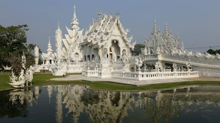 Thailand | Airfare: Rs 8,000 and above | Currency Rate: 1 Thai Baht = INR 2.8 | Things to do: Visit Chiang Mai Night Bazaar, safari world zoo, the white temple Wat Rong Khun, Bangkok floating markets and take a ferry ride to James Bond Island. (Reuters)