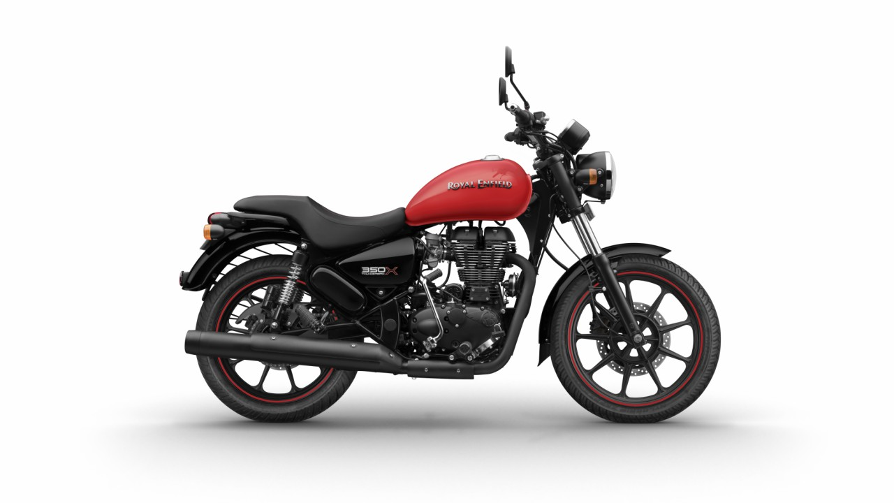 *The Thunderbird X comes with alloy wheels and tubeless tyres, a first for Royal Enfield