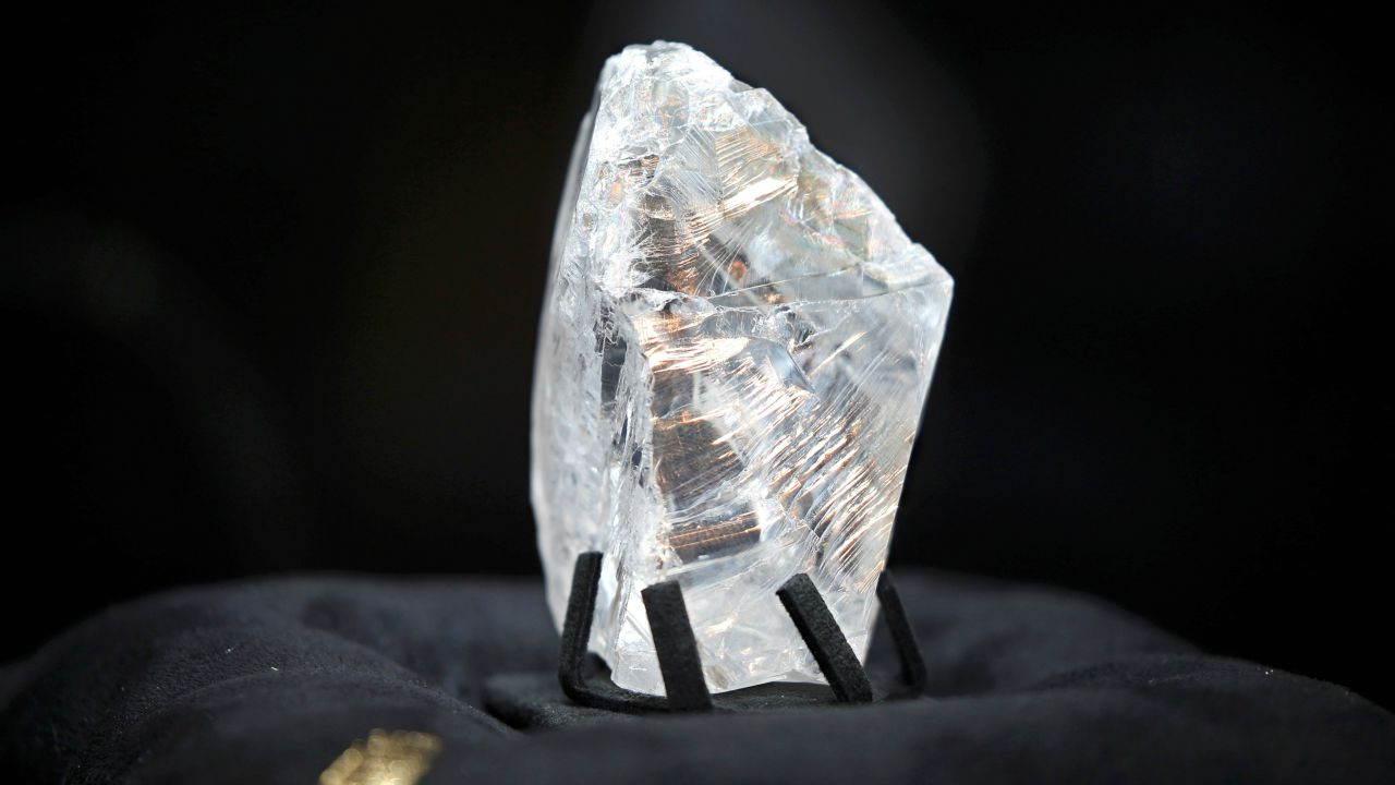 Name - Constellation Diamond | Carat - 813 carats | Price - $63.3 million: The most expensive rough diamond in the world, it was mined in Botswana and sold to jeweller De Grisogono in 2017. It's the largest diamond to be discovered in over a century. (Picture: Reuters)