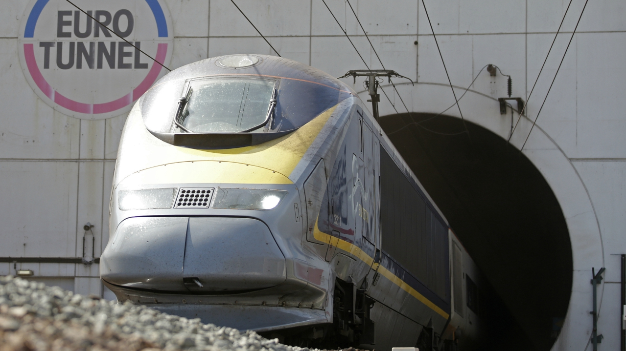 Euro Tunnel | Estimates cost: Rs 1,36,594 crore | The Channel Tunnel is a 50.45-kilometre rail tunnel linking Folkestone, Kent, in the UK with Coquelles, Pas-de-Calais, near Calais in northern France, beneath the English Channel at the Strait of Dover.