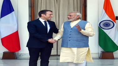 PM Modi to take Macron on Varanasi boat ride before solar plant inauguration