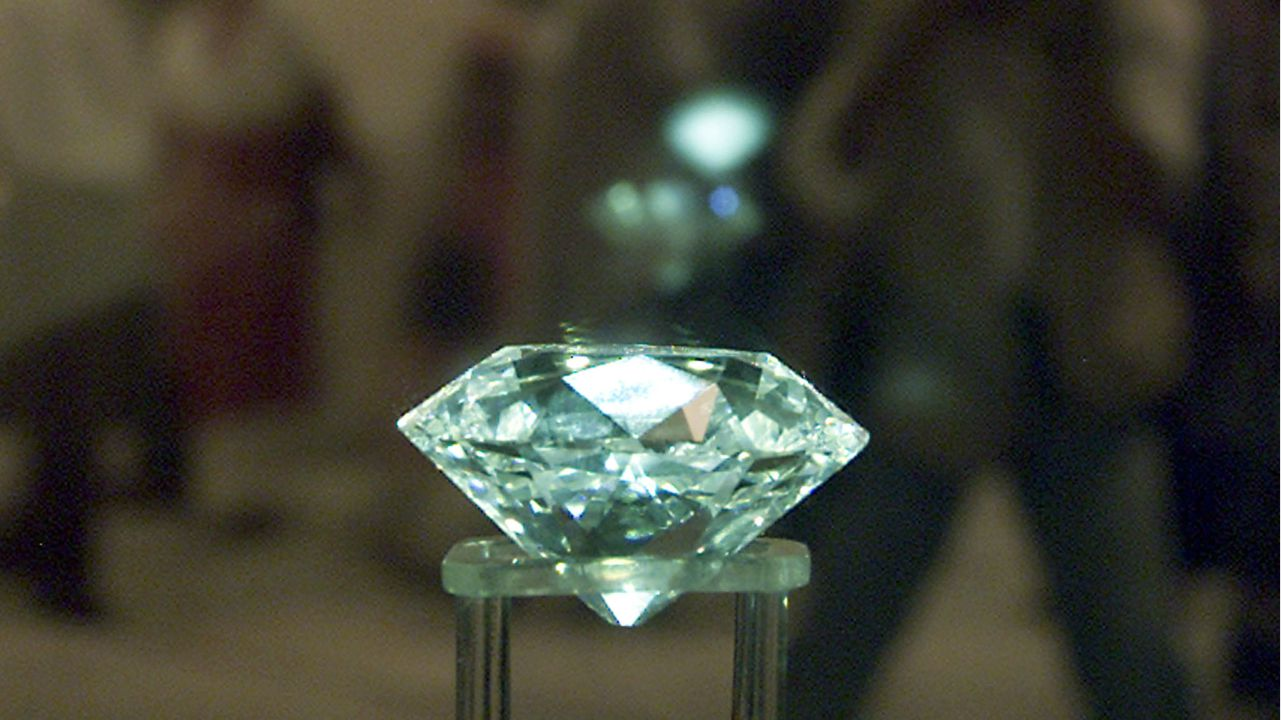 Name - Jacob Diamond | Carat - 185 | Price - $113 million: Discovered in 1884 and put up for sale in 1981 by Alexander Malcolm Jacob, this diamond was acquired by India for close to $13 million in 1995. (Picture: Reuters)