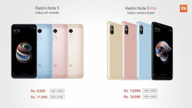 Xiaomi Redmi Note 5, Note 5 Pro on sale today, but no cash on delivery option for buyers