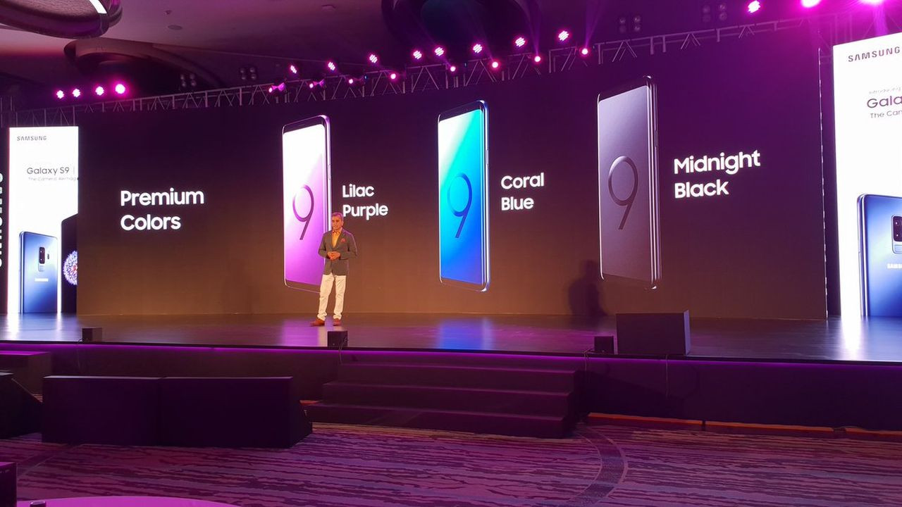 The 64 GB model of the Galaxy S9+ will cost Rs 64,900 and the 256 GB variants will cost Rs 72,900. (Twitter/Samsung Mobile India)