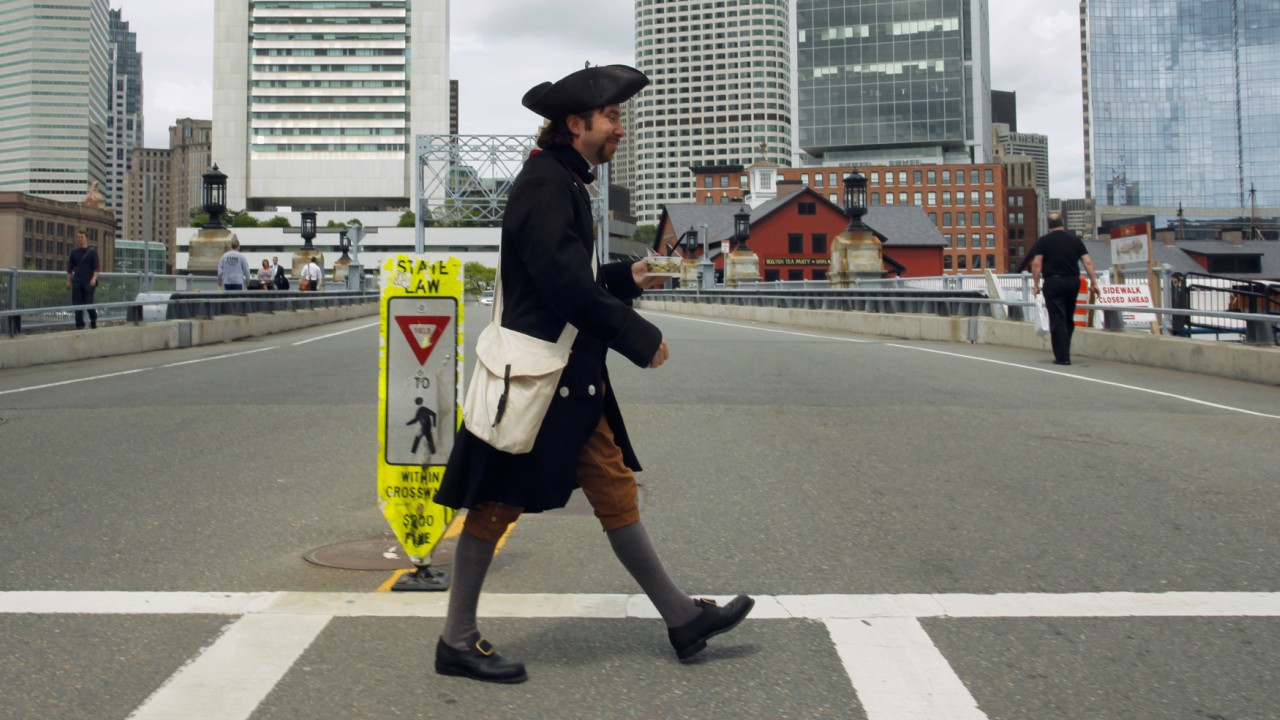 Answer: X-Boston Tea Party; Y-East India Company (Image: Reuters)