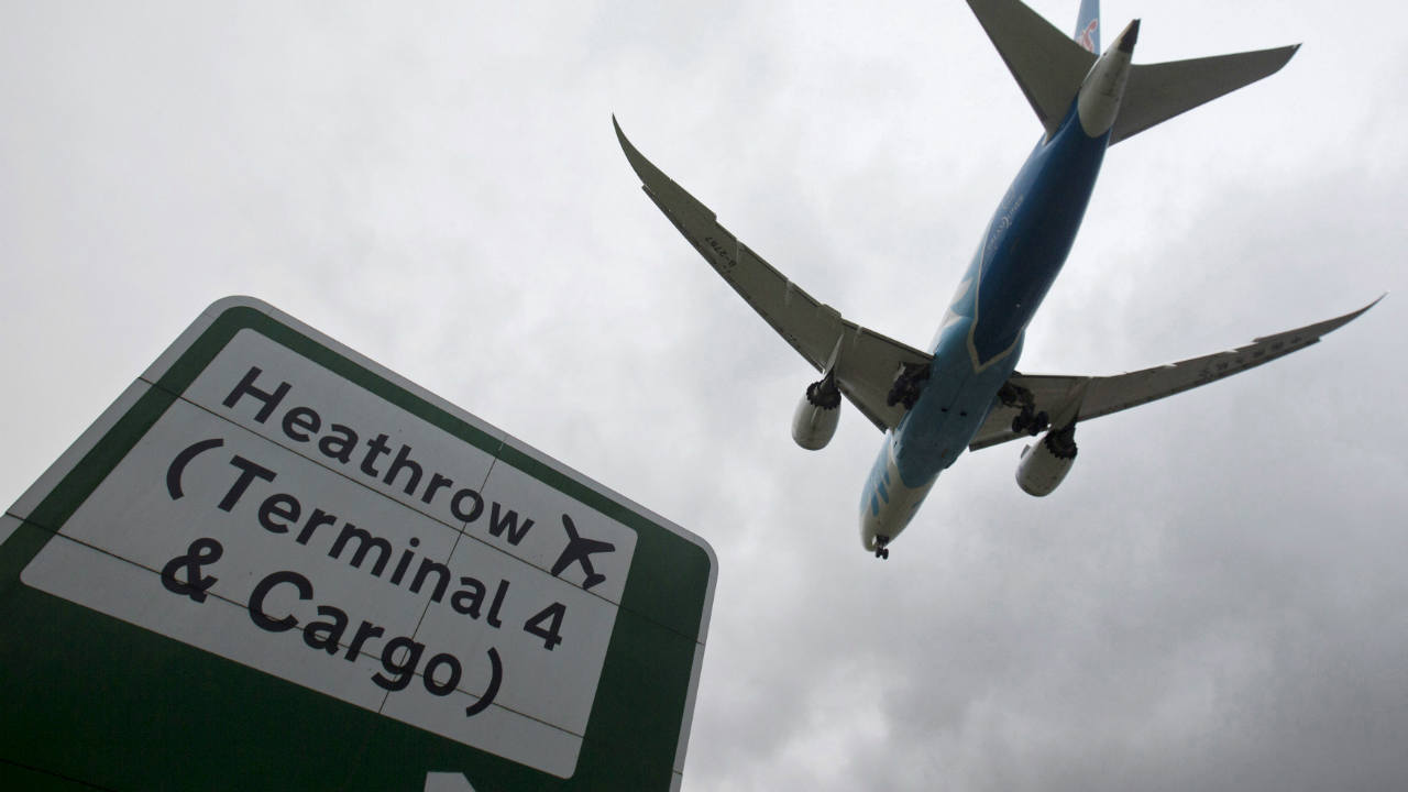 7: Heathrow International Airport, The United Kingdom (Image: Reuters)