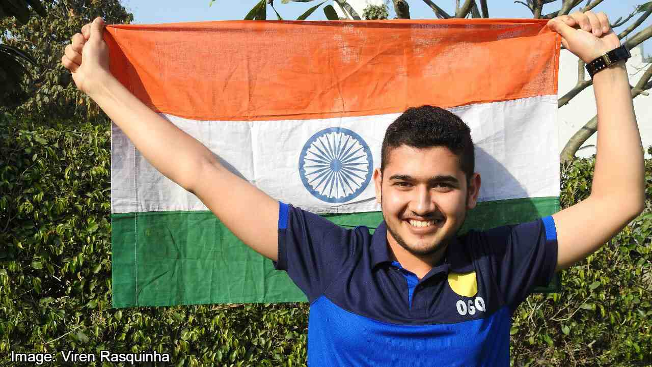 Anish Bhanwala | The 15-year-old shooting prodigy from Haryana grabbed the 16th gold for India in the 25m Rapid Fire Pistol event. Bhanwala scored a mark of 30 creating a new Games record. He saw off the challenges from Australian Sergei Evglevski who had to be content with Silver. Englishman Sam Govin clinched the bronze for his country.