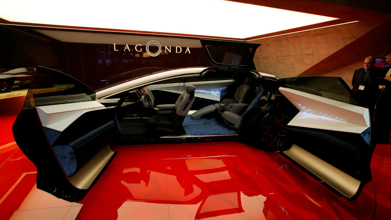 Aston Martin Lagonda Vision Concept | The British car maker unveiled the new Lagonda concept. It marks the beginning of a new range of state-of-the-art, emission-free luxury cars. Production is expected to begin in 2021. (Image: Reuters)