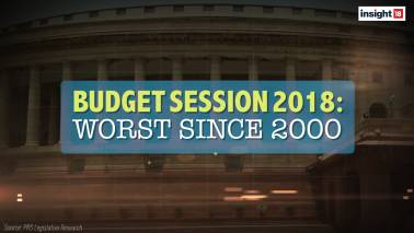 Budget Session 2018 – The worst session of Parliament since the year 2000