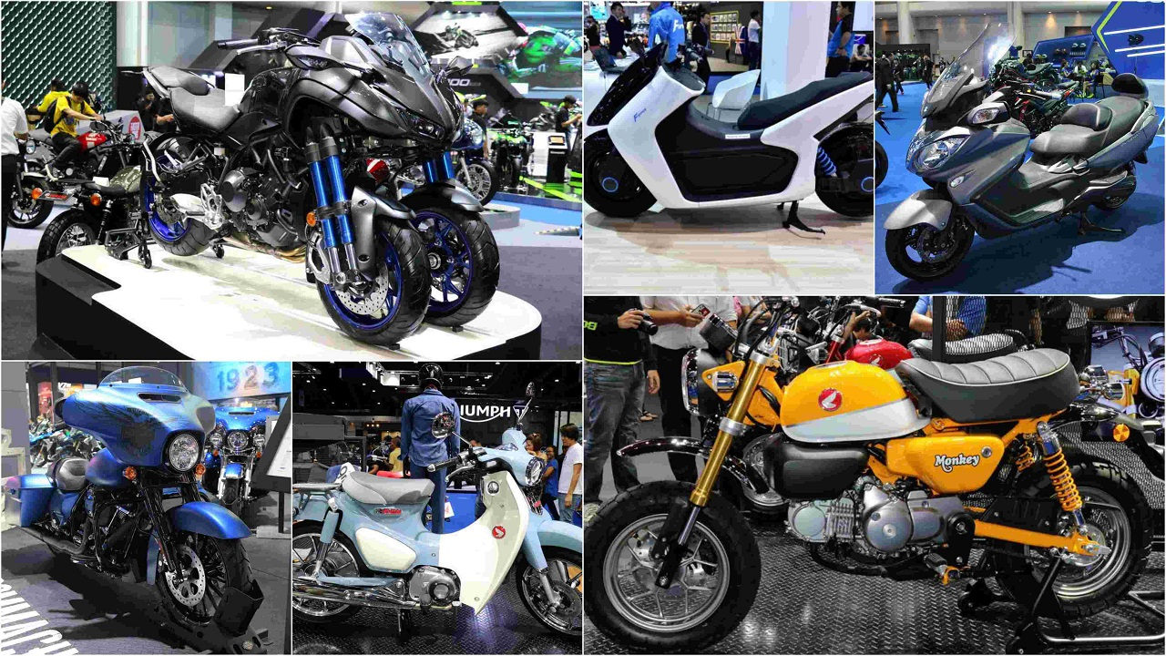 The Bangkok International Motor Show is currently going on and like any motor show there were many eyecandies for petrolheads and auto enthusiasts. Here's a look at seven two-wheelers showcased at the event that will surely leave you asking for more.