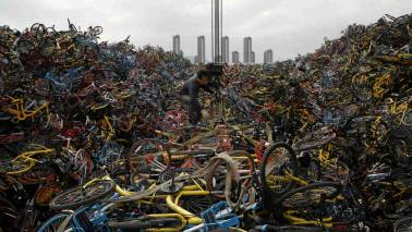 This green initiative is creating massive bicycle graveyards in China, here's why